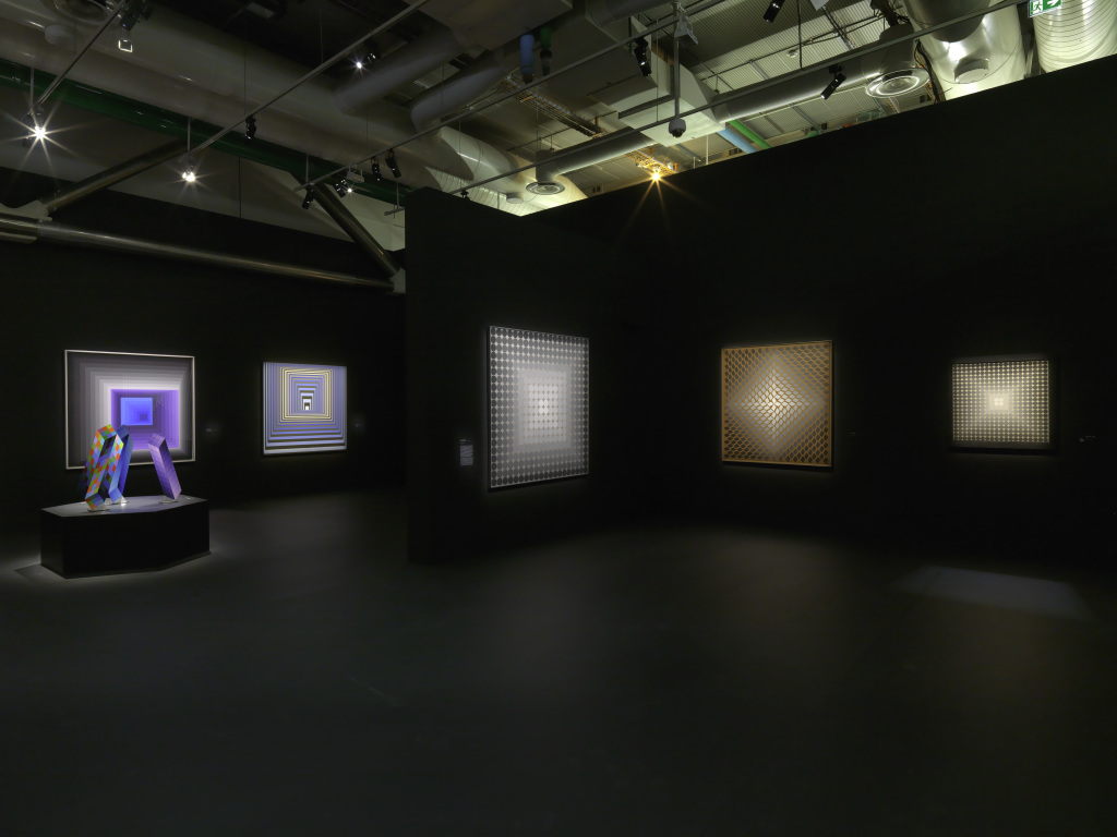 Exposition Vasarely au Centre Pompidou, Paris