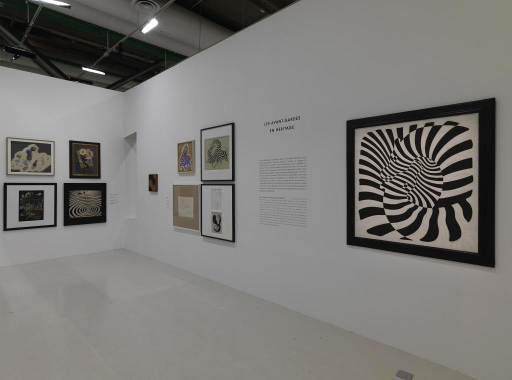 Exposition Vasarely au Centre Pompidou, Paris )