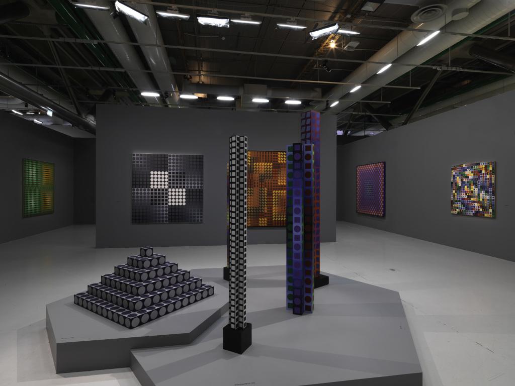 Exposition Vasarely au Centre Pompidou, Paris