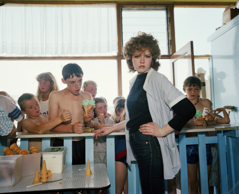 GB. England. New Brighton. From 'The Last Resort'. 1983-85.