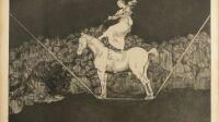 Francisco de Goya, Disparate puntual (c) Musée de Valence, photo Eric Caillet