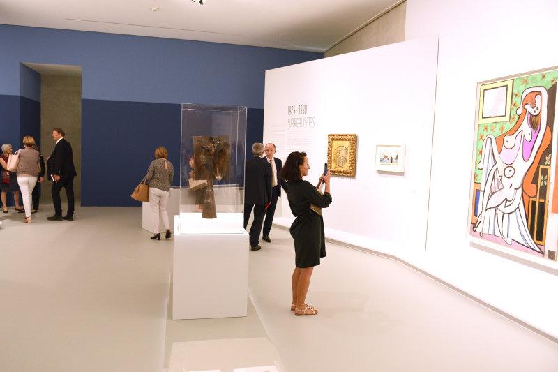 Vue de l'exposition Picasso, donner à voir - Musée Fabre