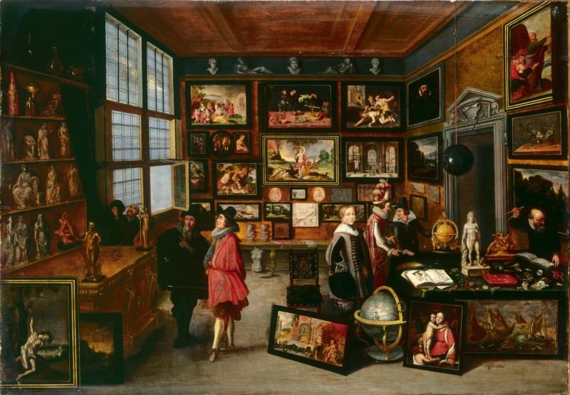 Gaspar de Crayer, Galerie d'objets d'art