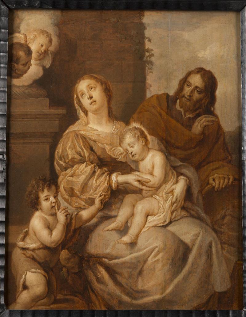 Gaspar de Crayer, La Sainte Famille avec saint Jean-Baptiste