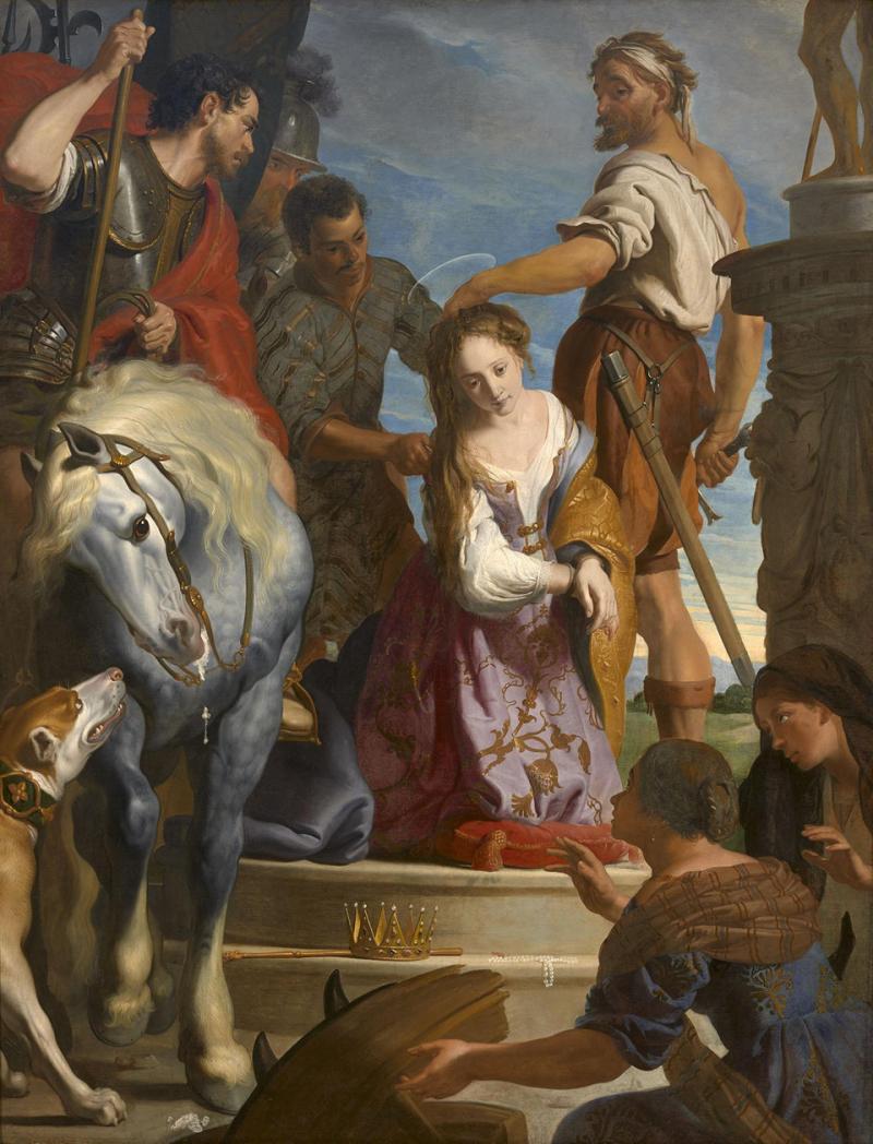 Gaspar de Crayer, Le Martyre de sainte Catherine_preview
