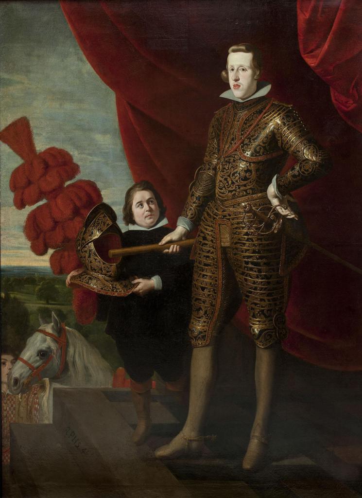Gaspar de Crayer, Portrait de Philippe IV d'Espagne