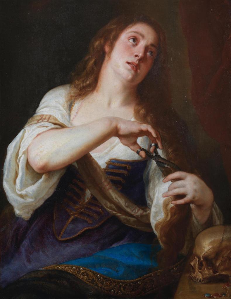 Gaspar de Crayer, Sainte Marie-Madeleine renonçant aux vanités du monde