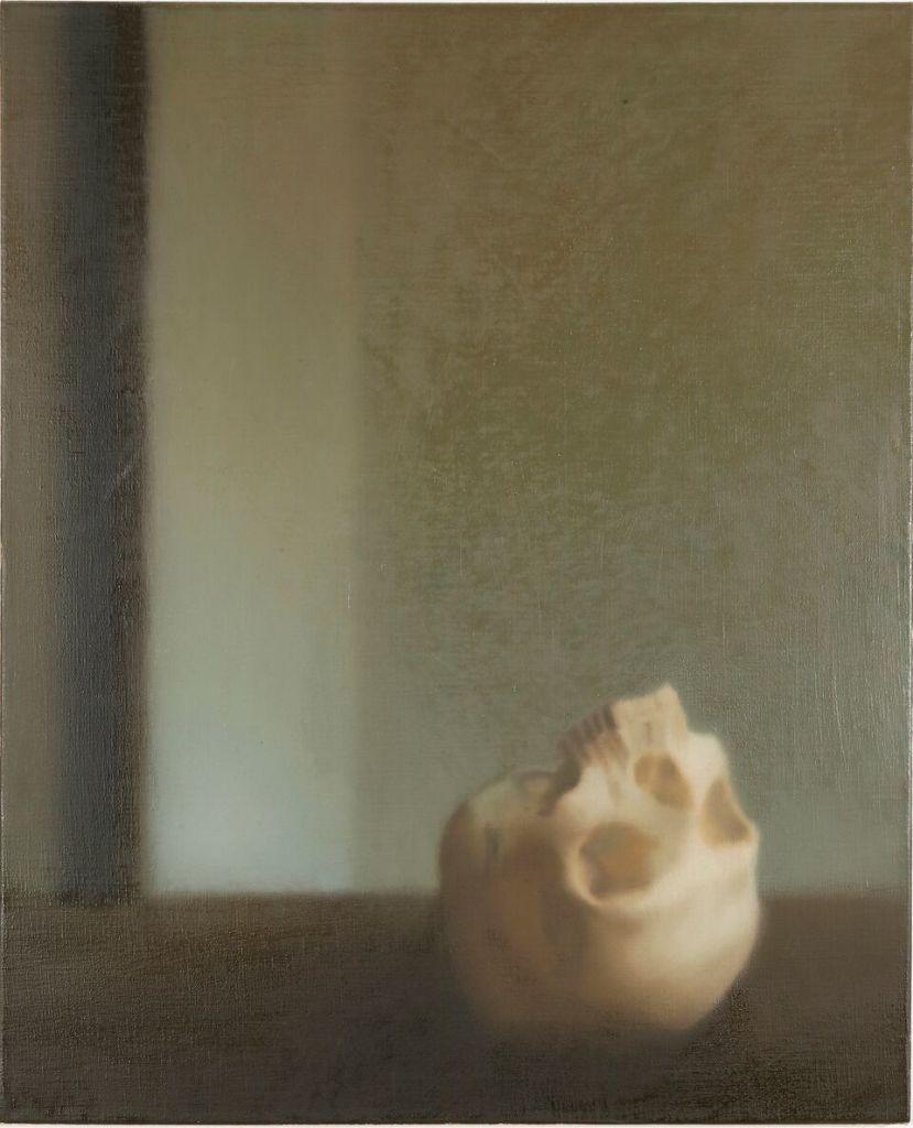Gerhard Richter (né en 1932) Skull 1983