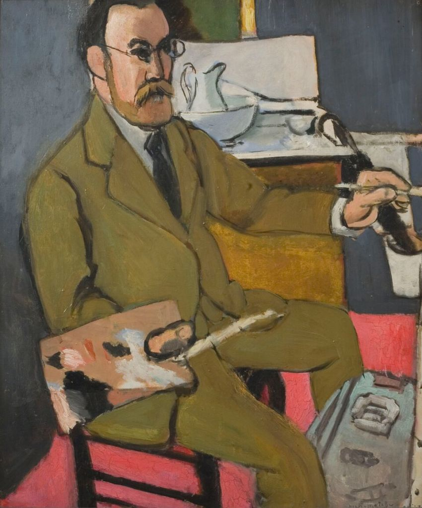 Henri Matisse Autoportrait, 1918