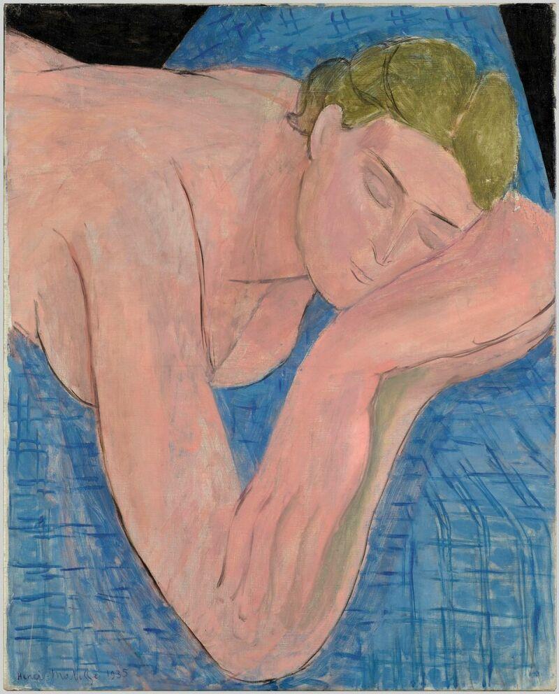 Henri Matisse Le rêve, mai 1935