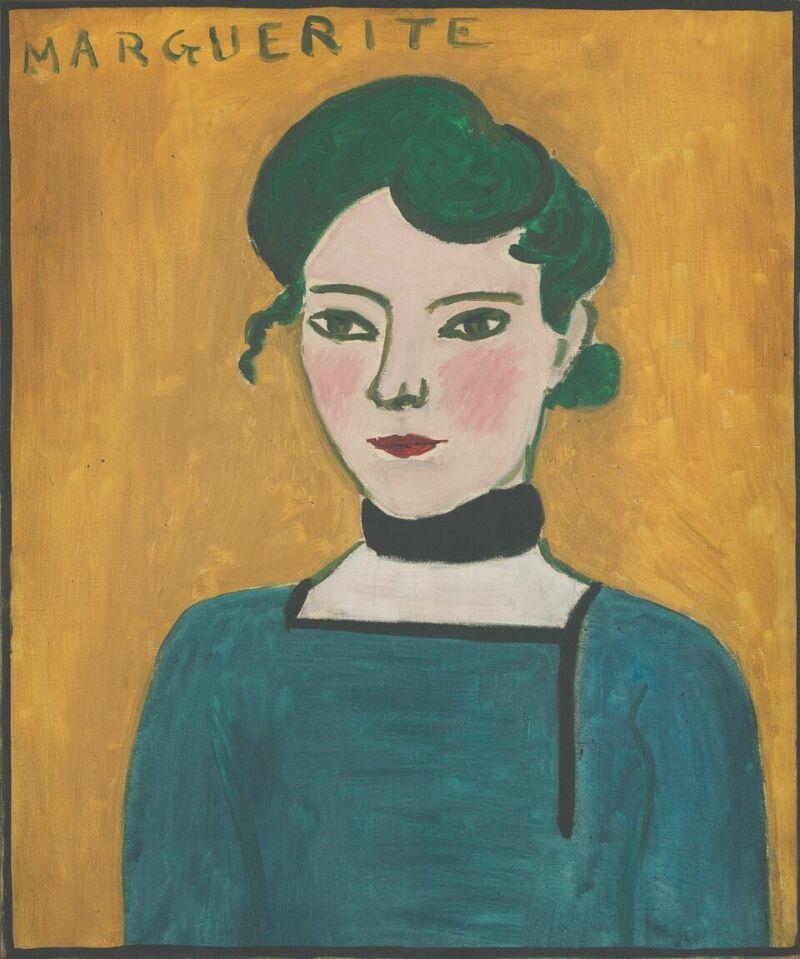 Henri Matisse Marguerite, 1907
