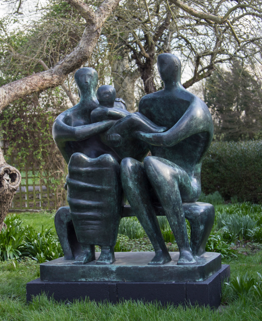 Henry Moore_Family Group, 1948-49 © Henry Moore Foundation archive