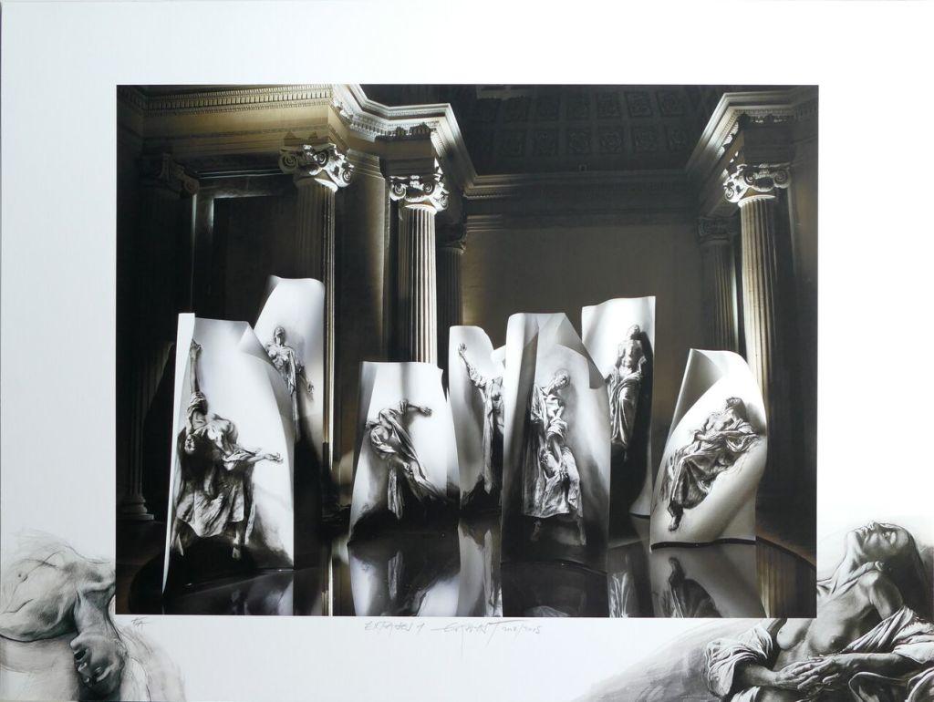 Installation Extases Galerie Lelong E. Pignon-Ernest