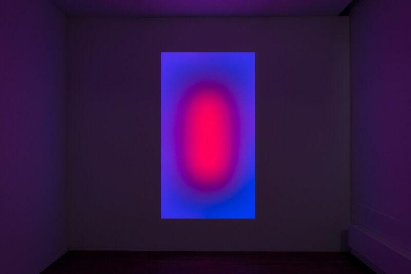 James Turrell, Awakening, 2006 blue