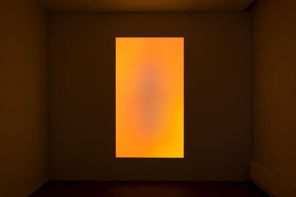 James Turrell, Awakening, 2006 orange