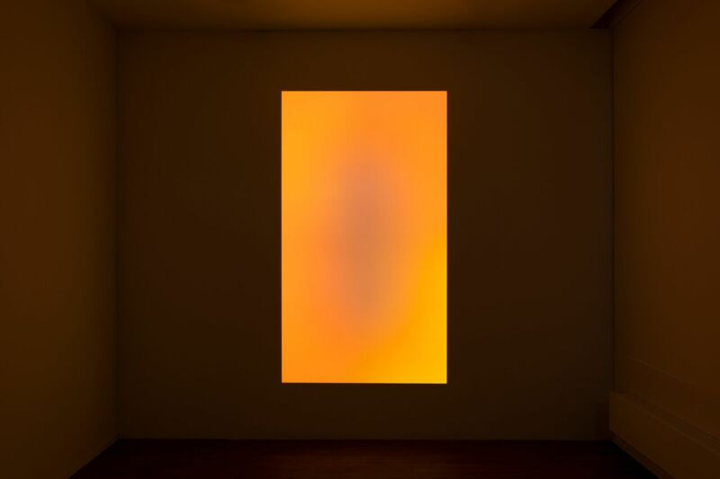 James Turrell, Awakening, 2006 orange