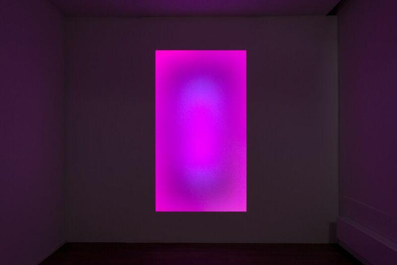 James Turrell, Awakening, 2006 purple