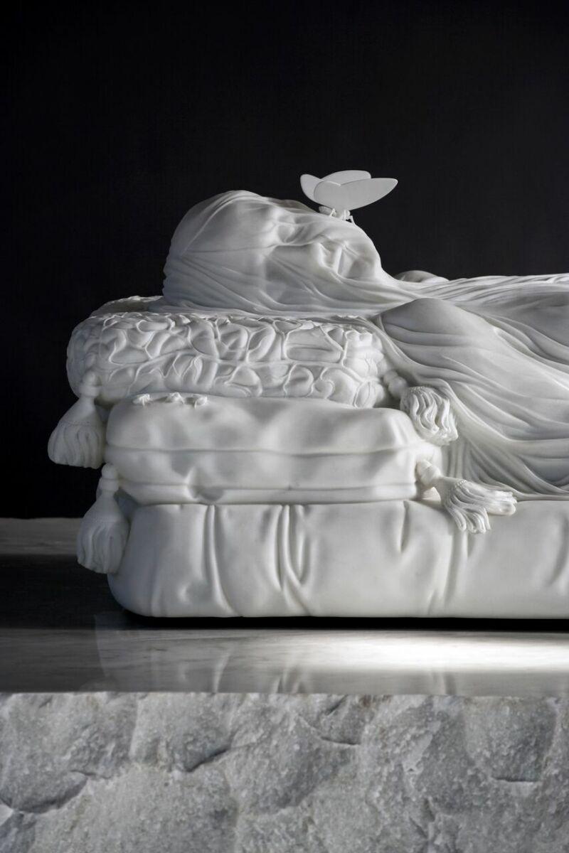 Jan Fabre, Gisant (Hommage à E.C. Crosby), 2011-2012
