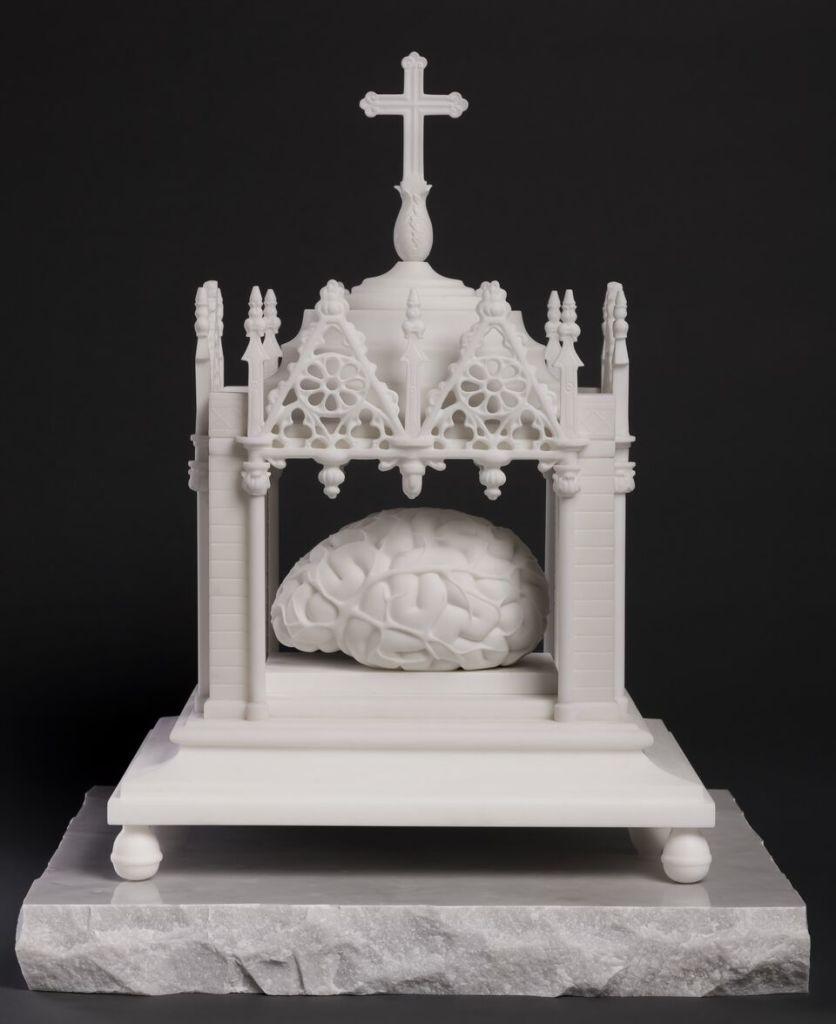 Jan Fabre, Sacrum Cerebrum XIII (Le tabernacle du cerveau), 2015