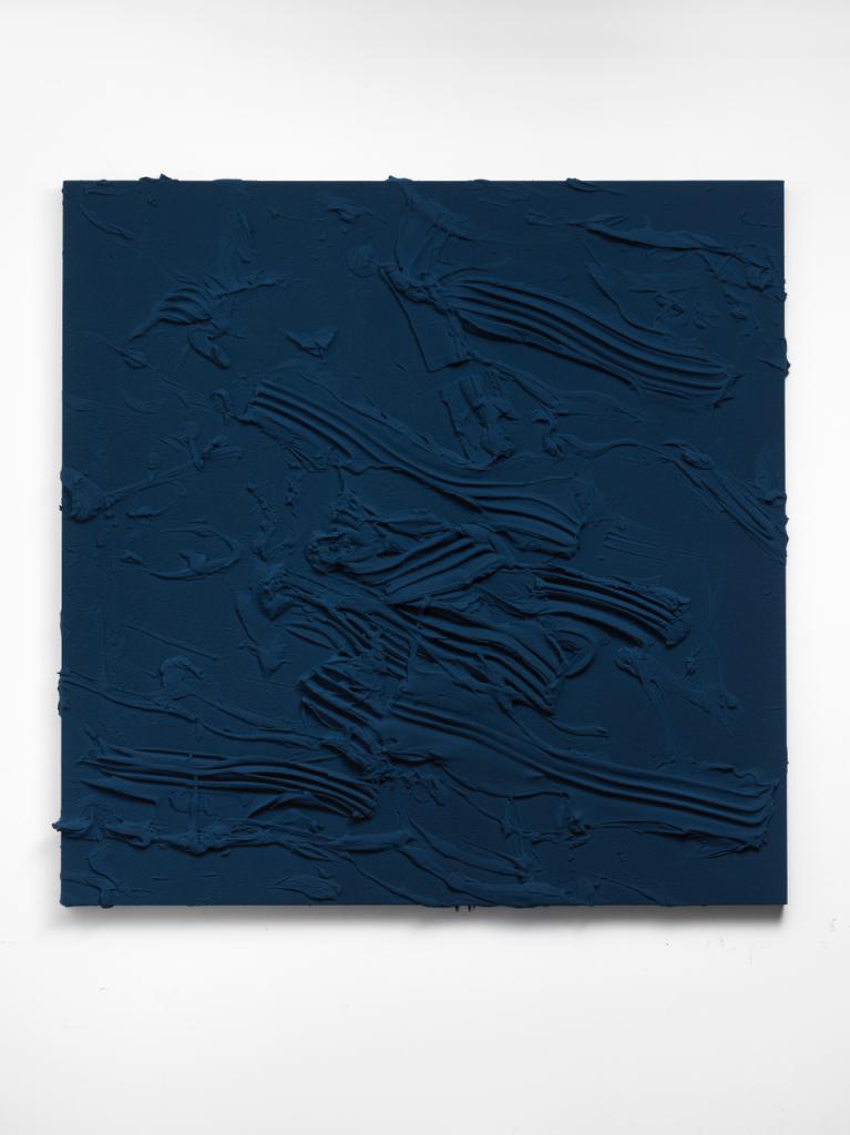 Jason Martin, Untitled, 2018 (Phthalo blue Phthalogreen n°2)