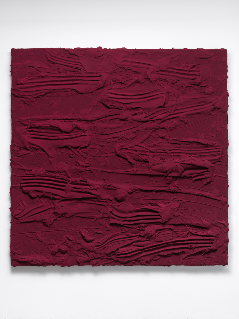 Jason Martin, Untitled, 2018 (Quinacridone magenta)