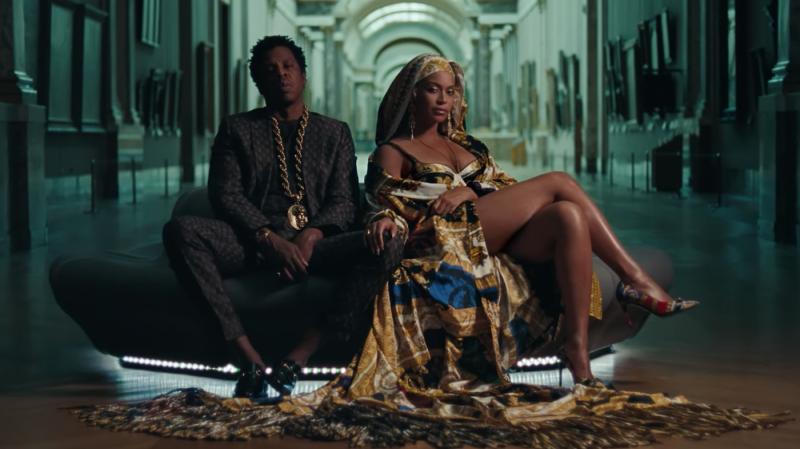 Jay Z et Beyoncé au Louvre