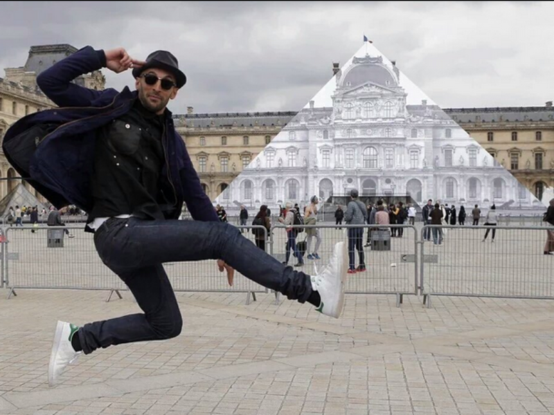 JR -Louvre