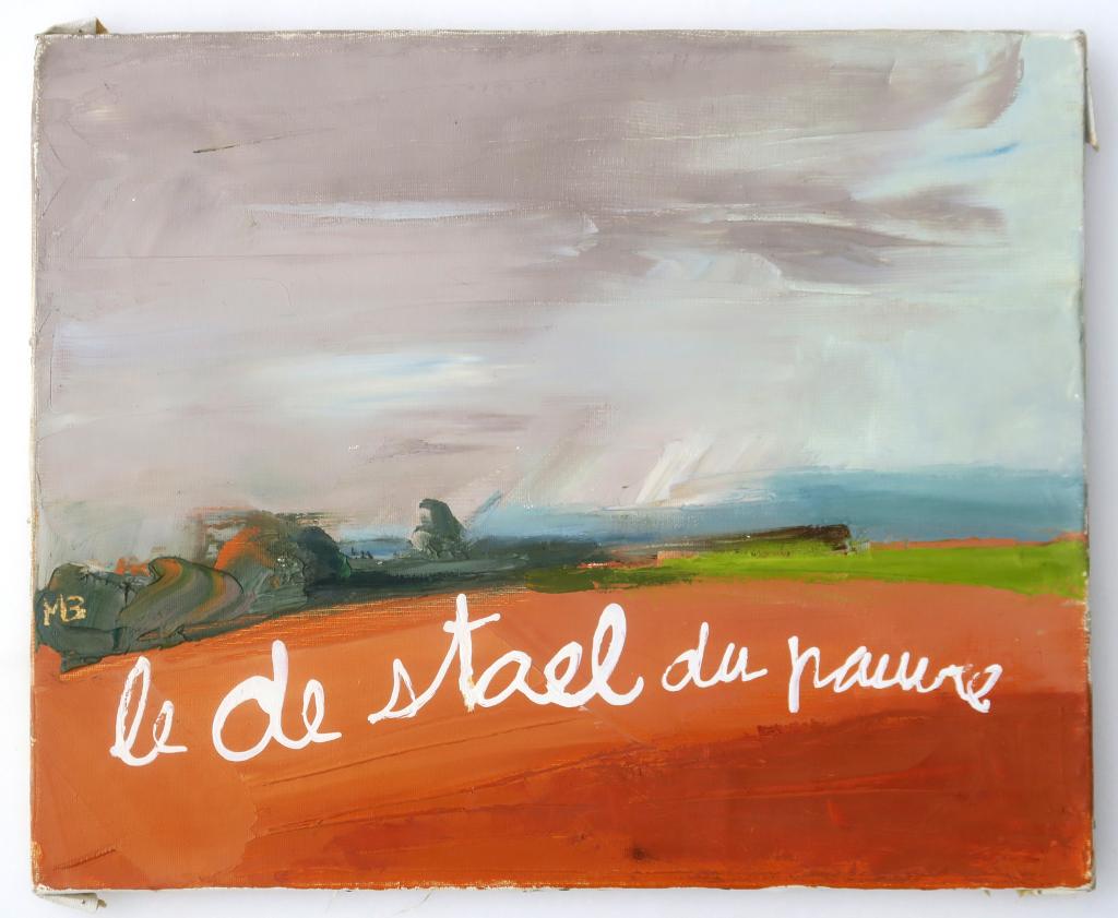 Ben, Le De Stael du pauvre, 2018