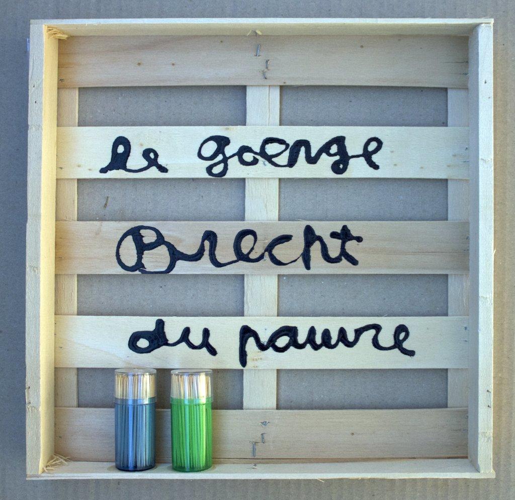 Ben, Le George Brecht du pauvre, 2016