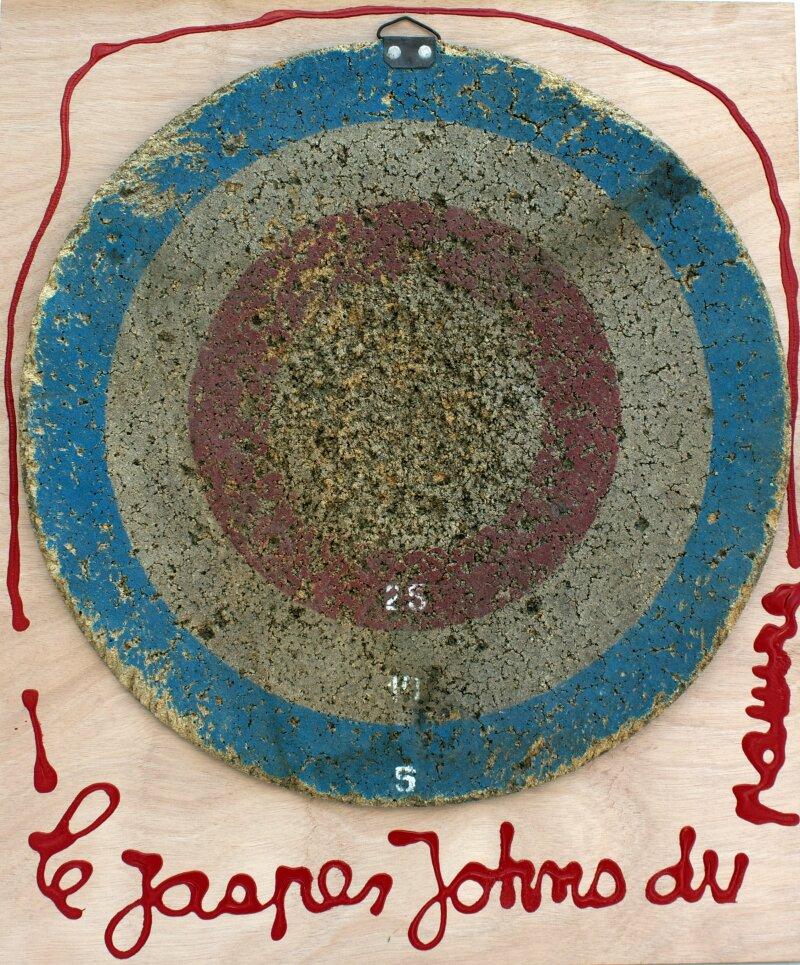 Ben, Le Jasper Johns du pauvre - 2016