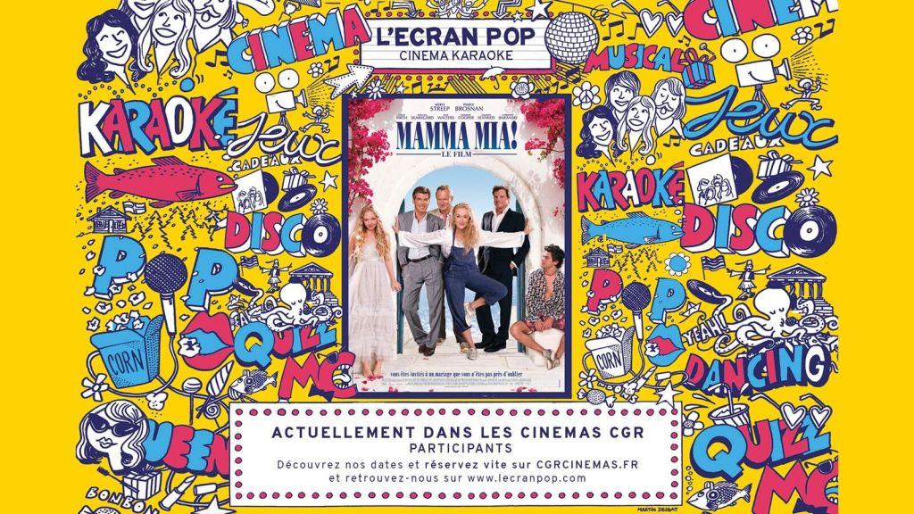 Affiche L'Ecran Pop - Mamma Mia !