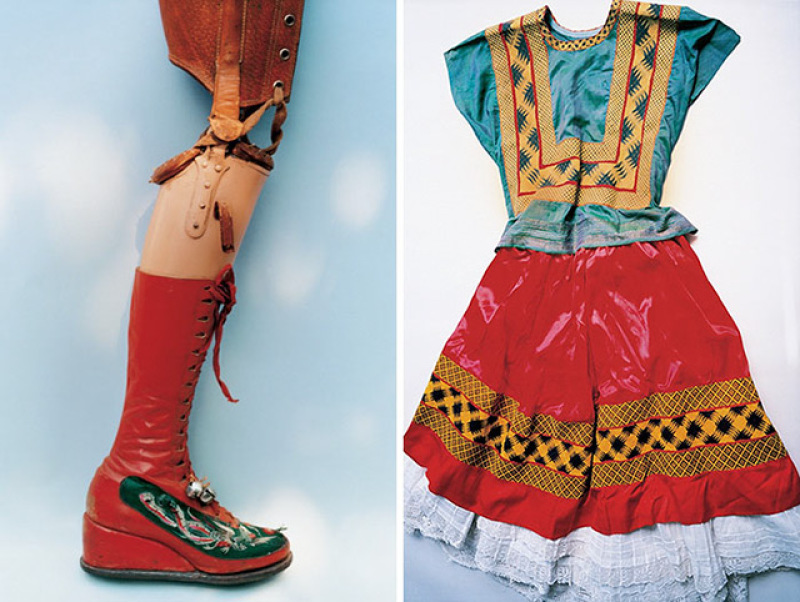 Leg and dress