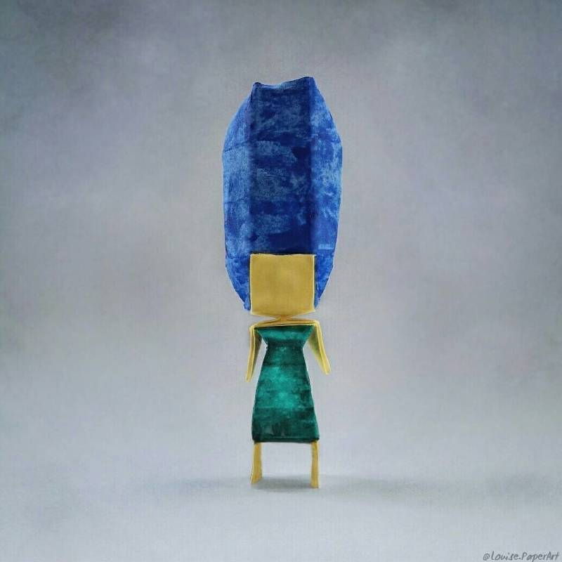 © Louise Cassidy - Marge Simpson