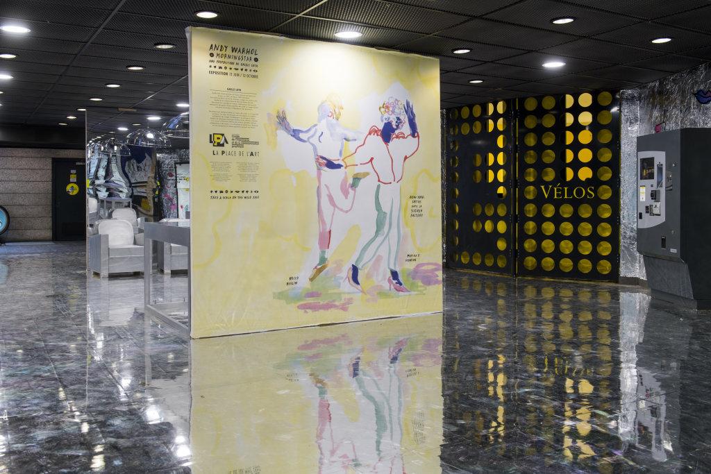 LPA Expo Andy WARHOL Parc République 45
