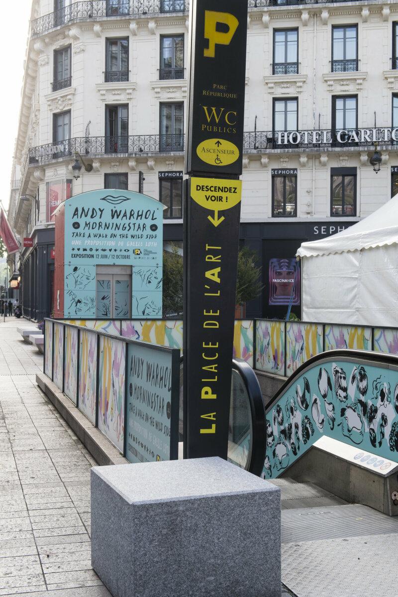 LPA Expo Andy WARHOL Parc République 68