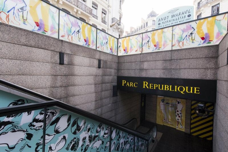 LPA Expo Andy WARHOL Parc République 71