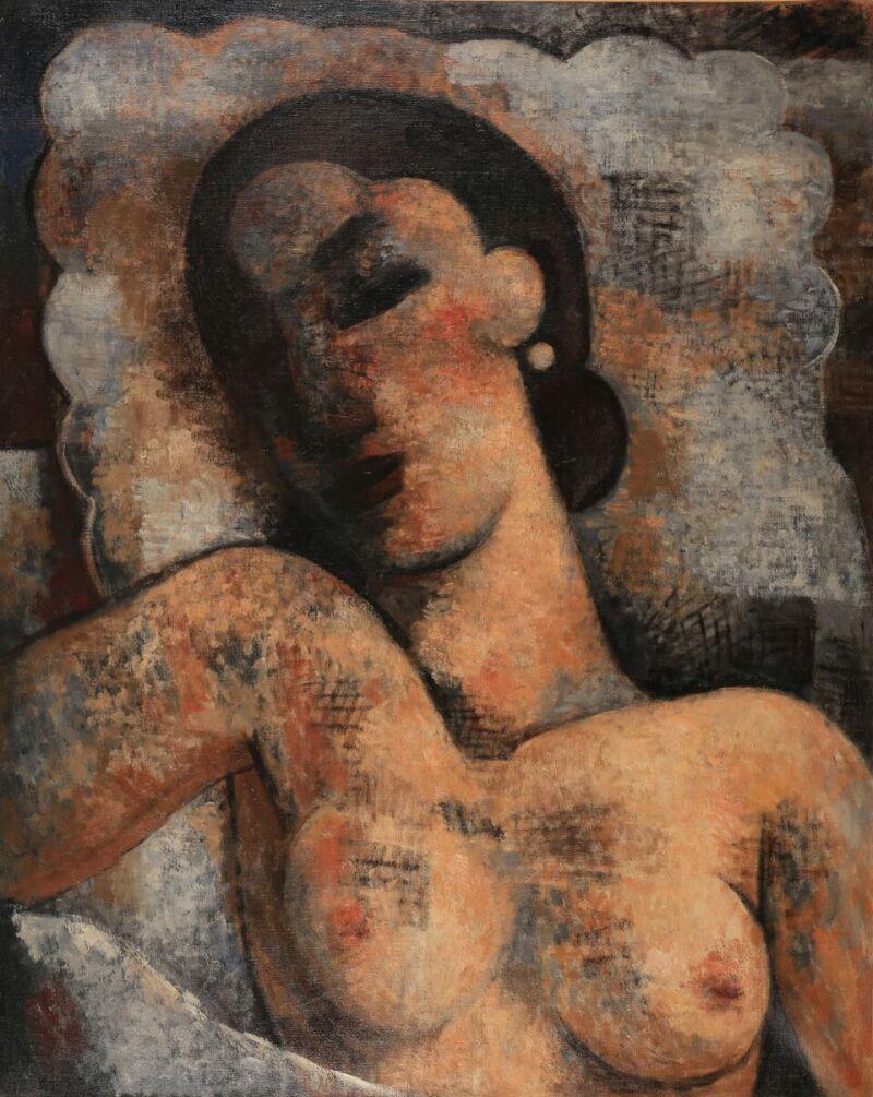 Marcel Gromaire, L'oreiller, 1942