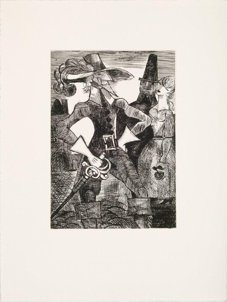 Marcel Gromaire, Livre Dix contes de Gaspard de la nuit, d'Aloysius Bertrand illustrés chacun par Marcel Gromaire 1962
