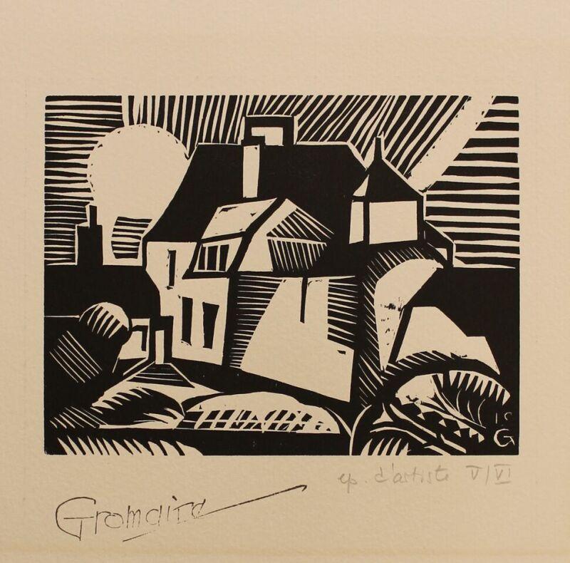 Marcel Gromaire, Maison natale de l'artiste, 1919