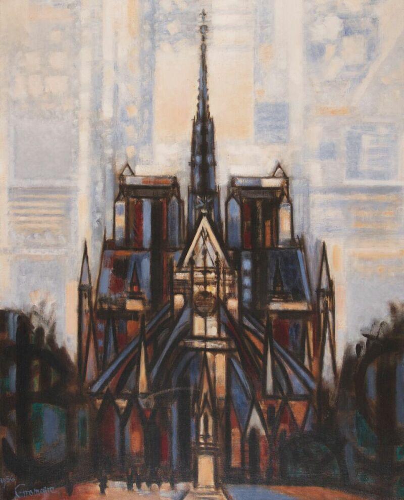 Marcel Gromaire, Notre Dame, 1956