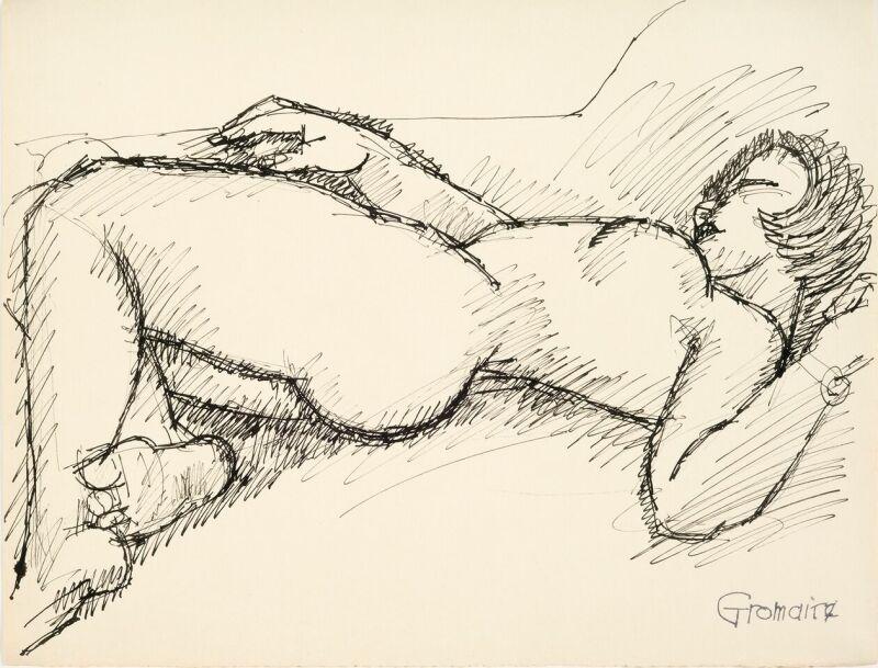 Marcel Gromaire, Nu allongé, vers 1932