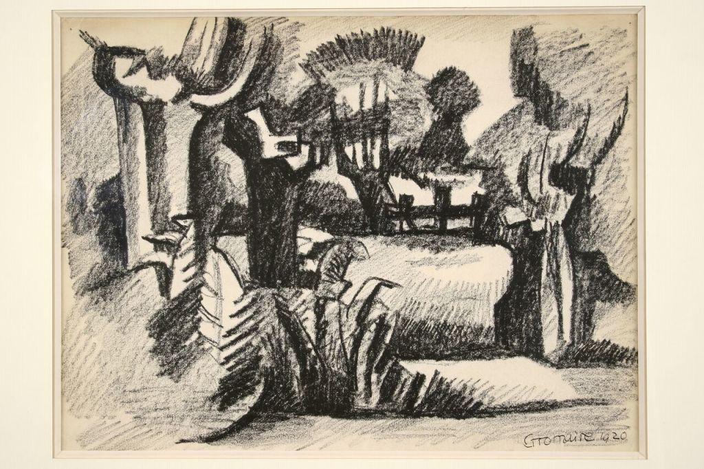 Marcel Gromaire, Paysage, 1920