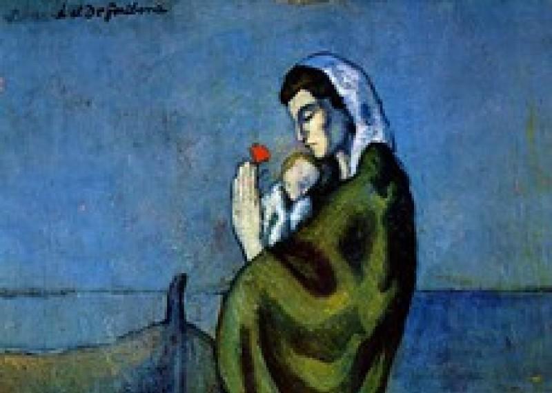 Maternité au bord de la mer - Pablo Picasso