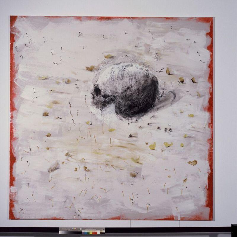 Miquel Barceló (né en 1957) Crâne aux allumettes 2006 © André Morin,