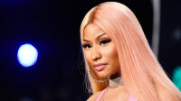 INGLEWOOD, CA - AUGUST 27:  Nicki Minaj attends the 2017 MTV Video Music Awards at The Forum on August 27, 2017 in Inglewood, California.  (Photo by Frazer Harrison/Getty Images)