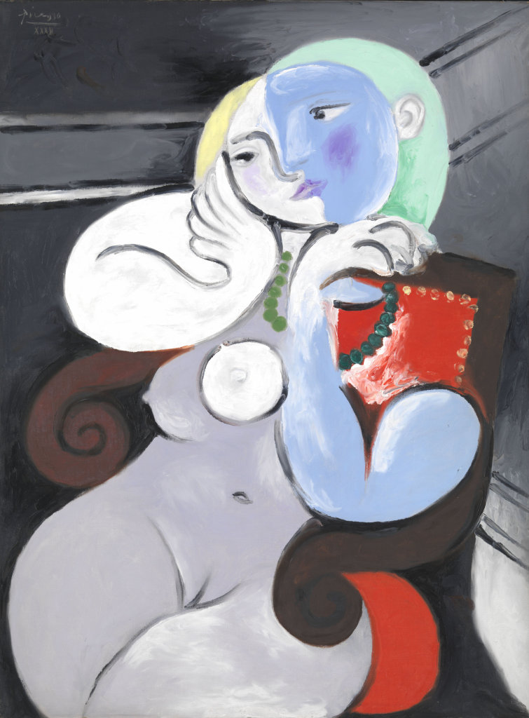Picasso, Nude Woman in a Red Armchair, N06205