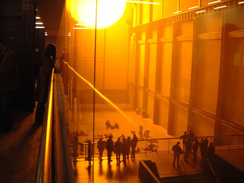 Olafur Eliasson - The Weather Project, 2003, Tate Modern, London
