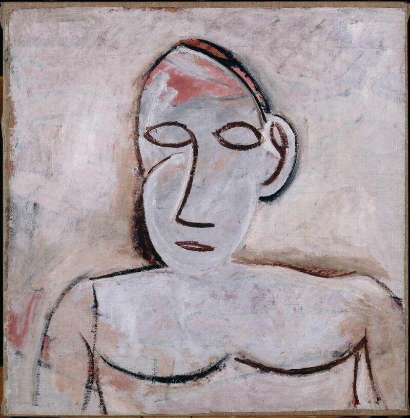 Pablo Picasso, Buste printemps 1907