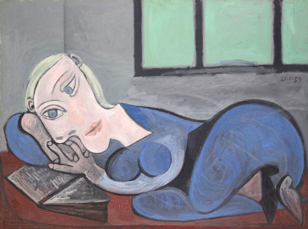Pablo Picasso Femme couchée lisant, 21 janvier 1939