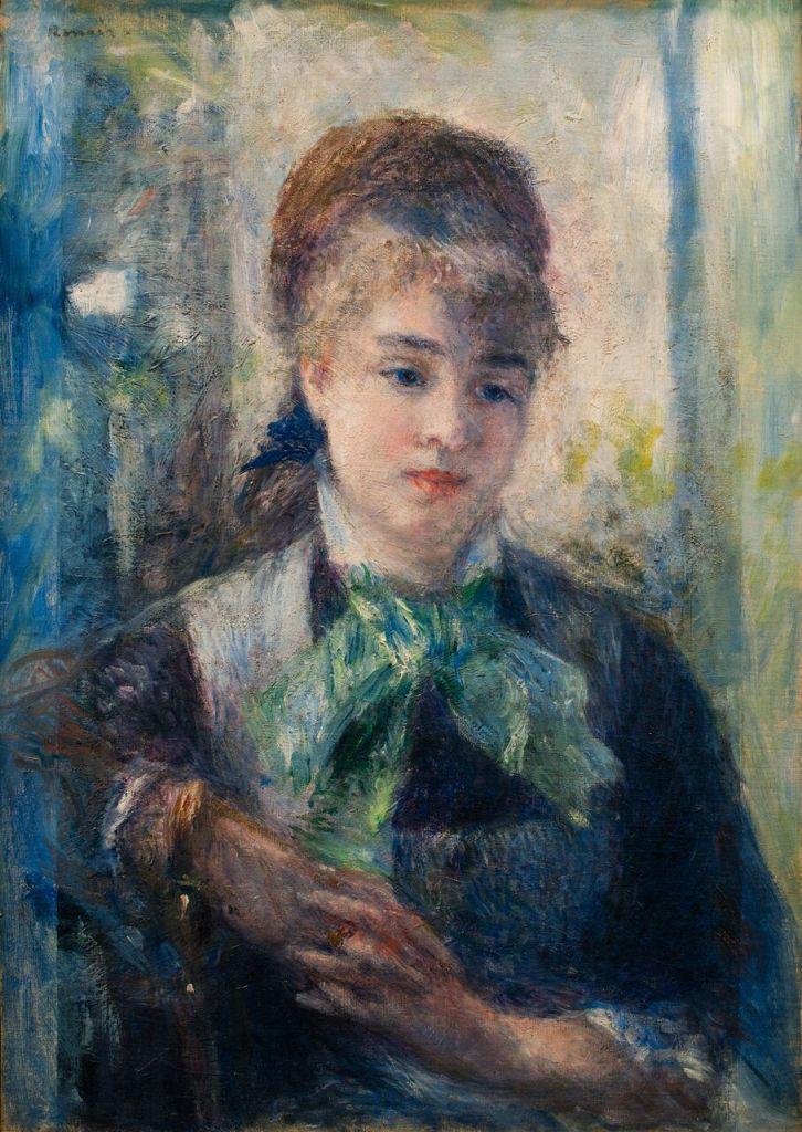 Pierre-Auguste RENOIR, Portrait de Nini Lopez, 1876